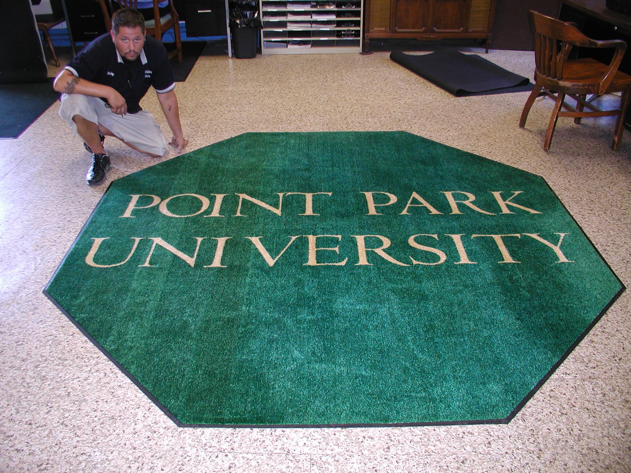 Point Park Octagonal Mat